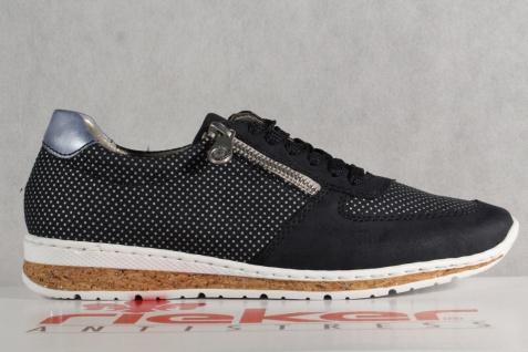 Rieker Damen Schnürschuhe, Halbschuhe, Sneakers, blau, N5121 NEU! Beliebte Beliebte Beliebte Schuhe b17b5d