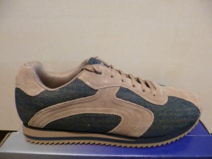 Dockers Schnürschuh Sneaker jeans/ braun NEU!