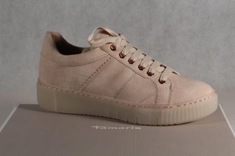 Tamaris NEU! Schnürschuhe Sneakers Halbschuhe rose NEU! Tamaris 15dd94