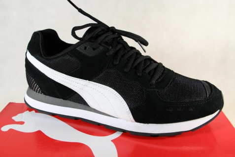 PUMA Schnürschuhe Sneakers Halbschuhe Sportschuhe schwarz 369365 NEU!