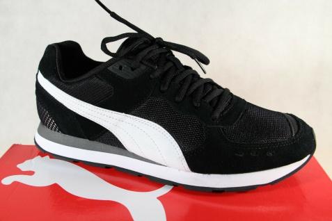 PUMA Schnürschuhe Sneakers Halbschuhe Sportschuhe schwarz Vista 369365 NEU!