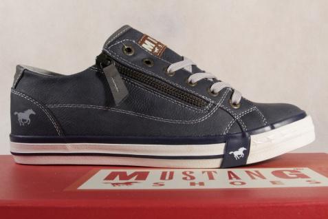 Mustang Schnürschuhe 1146 Sneakers Halbschuhe Sportschuh blau 1146 Schnürschuhe NEU 353b49