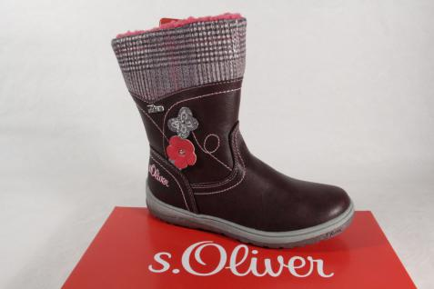 s.Oliver 36421 Stiefel Stiefeletten Boots bordeaux Tex rot NEU!
