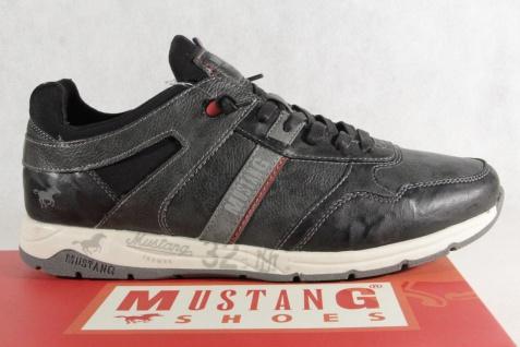 Mustang Schnürschuhe Sneaker, Halbschuhe Sportschuhe Slipper Gummisohle 4106 Neu - Vorschau 2
