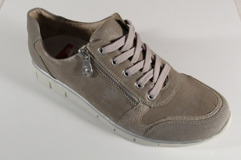 Rieker Damen N4020 Schnürschuhe, Halbschuhe, Sneakers, beigea, N4020 Damen RV NEU! e13d28