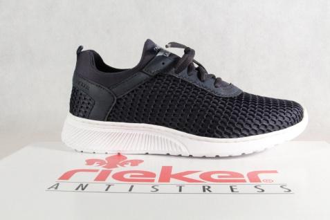 Rieker Sneakers Herren Schnürschuhe Slipper Halbschuhe Sneakers Rieker blau B5051 NEU! e26862