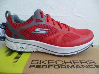 Skechers Herren Schnürschuhe Sneakers Sneaker Sportschuhe rot 220035 NEU