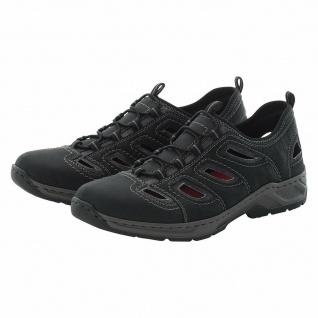 Rieker Herren Slipper Sneakers Sneaker Sportschuhe schwarz 14266 NEU