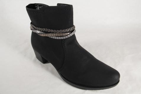 Rieker 76673 Damen Stiefel Stiefelette NEU! Boot schwarz NEU! Stiefelette ab3333