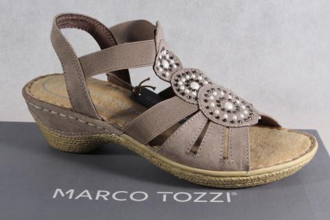 Marco Tozzi Sandalen Damen Sandalen Tozzi Sandaletten pfeffer NEU!! 716510