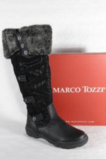 Marco Tozzi Damen Stiefel schwarz schwarz Stiefel Neu!!! df6222