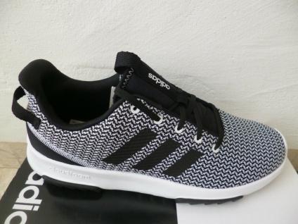 Adidas Sportschuhe Racer TR Sneakers Schnürschuhe schwarz/weiß NEU!