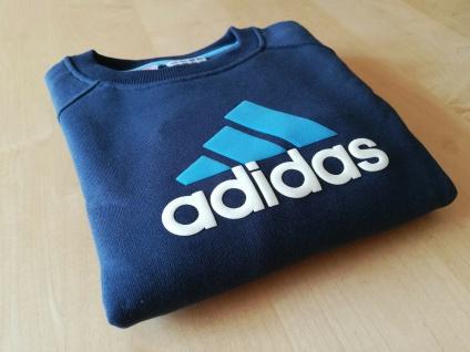 Adidas Sweatshirt Sweater Pullover Pulli Jungen dunkelblau NEU