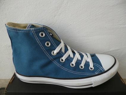 Converse All Star Schnürschuhe Sneaker Sneakers Stiefel blau jeans Neu!!!