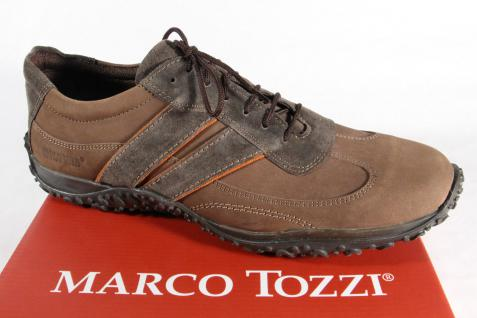 Marco Tozzi Schnürschuh Halbschuh braun Sneaker braun Halbschuh NEU 7a87f9