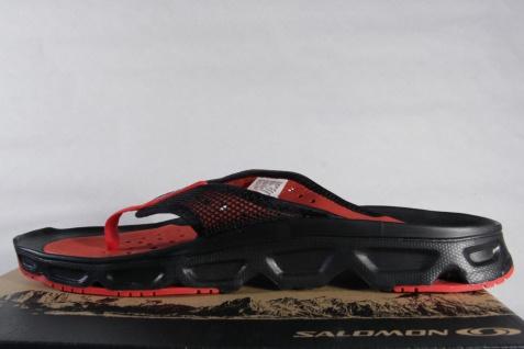 Salomon Zehenstegpantoletten schwarz/rot Pantoletten Zehentrenner RX Break schwarz/rot Zehenstegpantoletten NEU! 3fa33d