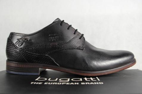 Bugatti Herren Schnürschuh Sneaker Schnürschuhe Halbschuhe Sneaker Schnürschuh schwarz NEU! 37adee