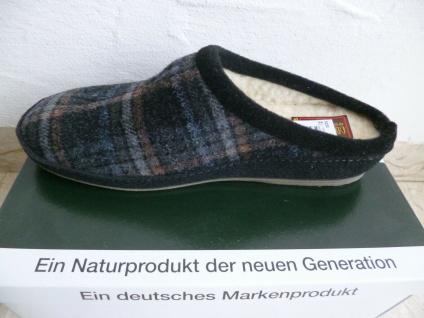 Schawos Herren Pantoffel Hausschuhe Pantoletten Pantoffeln schwarz kombi NEU!! - Vorschau 3