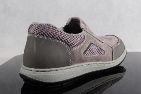 Rieker Halbschuhe extra Slipper Schnürschuhe Sneaker grau extra Halbschuhe weit NEU!! 8c9817