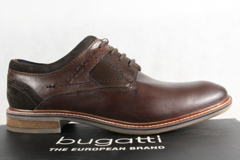 Bugatti Herren Schnürschuh, Halbschuh Sneaker dunkelbraun, Usedlook 311 Usedlook dunkelbraun, NEU!! ef23e4