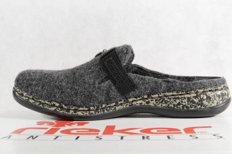 Rieker Damen Pantoffel, Filzstoff, Softfilzinnensohle, grau 46300 46300 46300 NEU!! Beliebte Schuhe de8356