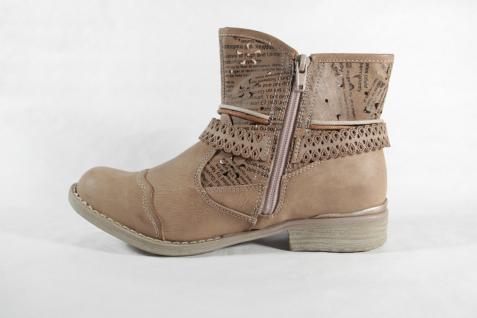 Rieker Stiefel Stiefelette Stiefel beige Reißverschluß beige Stiefel NEU d5a143