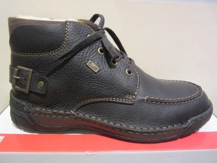 Rieker Leder Stiefel Winterstiefel Boots Schnürstiefel, dunkelbraun, Leder Rieker F0320 NEU Beliebte Schuhe 600f92