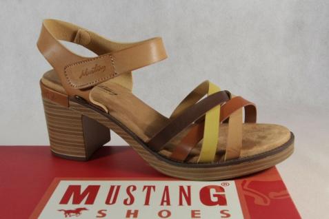 Mustang Damen Sandale Sandalette Sandalen braun Neu!