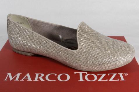 Marco gold Tozzi Slipper Ballerina Pumps gold Marco NEU!! 065240