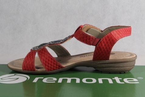 Remonte Sandaletten Sandale Sandaletten Remonte rot Lederfußbett Echtleder NEU! 753129