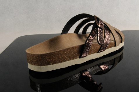 Dr. Brinkmann Damen NEU! Pantolette Pantoffel braun/ bronze NEU! Damen 43b110