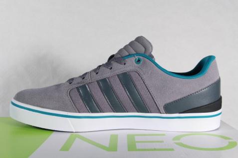 Adidas Schnürschuhe Sneakers Sportschuhe Halbschuhe HAWTHORN ST Leder grau NEU!