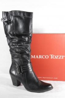 Marco Tozzi Damen Stiefel Stiefelette Stiefeletten Boots schwarz Echtleder Neu!!