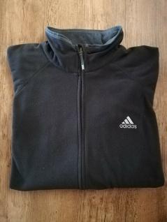 Adidas Fleecejacke Herren Sport Fleece Jacke schwarz NEU