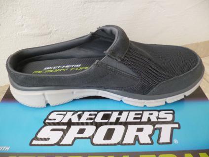 Skechers Clogs Pantolette Sabot Sabot Pantolette grau Neu!! aba985
