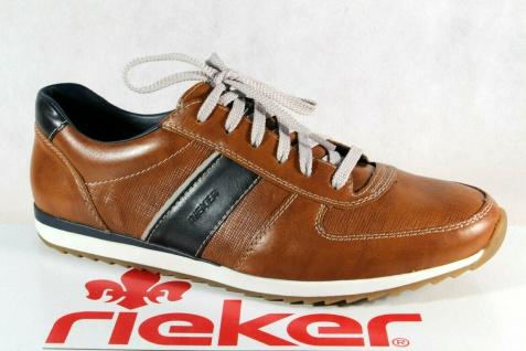 Rieker Schnürschuhe Sneakers Sneaker Halbschuhe braun 19322 NEU!!