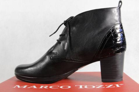 Marco Tozzi Damenstiefel Stiefel Stiefeletten Leder, Schnürstiefel, Leder, Stiefeletten 25106 NEU! aa091a