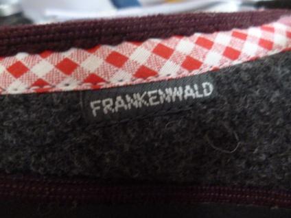 Frankenwald für Damen Pantoffel Hausschuhe, grau/rosé, für Frankenwald lose Einlagen, Filz NEU!! cf9f6f