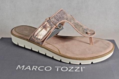 Marco Sandalen Tozzi Zehenstegpantoletten Pantoletten Sandalen Marco rosé NEU!! 06ffa7