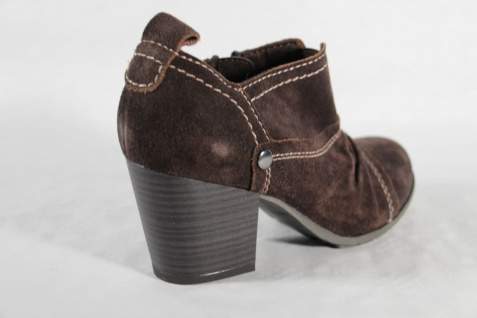 Marco Tozzi Fußbett, Stiefelette, braun, Reißverschluß, weiches Fußbett, Tozzi NEU!! 0f7ba2