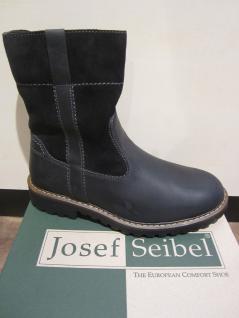 Seibel Herren Stiefel Winterstiefel Boots Stiefelette schwarz Leder 21927 NEU - Vorschau 4