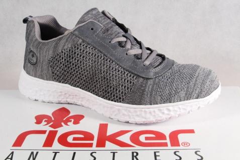 Rieker Damen Schnürschuh Halbschuhe Schnürschuhe Sneakers Sportschuhe Halbschuhe Schnürschuh grau NEU! 0a9018
