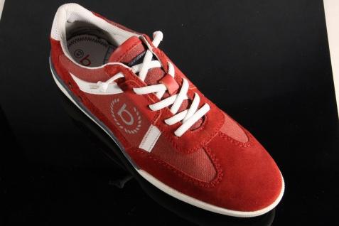 Bugatti Herren rot Schnürschuh Schnürschuhe Halbschuhe Sneaker rot Herren NEU! 0ebf7b