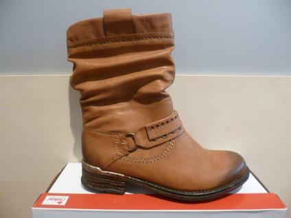 Rieker Damen Stiefel Stiefeletten Winterstiefel Boots braun NEU