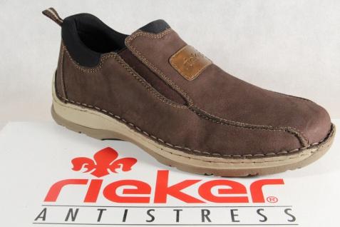 Rieker Slipper Sneakers Halbschuhe braun weiche Lederinnensohle NEU