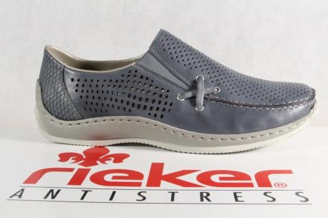 Rieker Damen Slipper Schnürschuhe, L1767 Halbschuhe, Sneakers, blau L1767 Schnürschuhe, NEU! a8133e