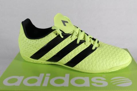 Adidas Herren Schnürschuhe Sneakers ACE 16.4 Court gelb NEU