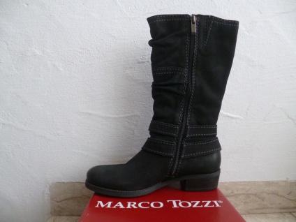 Marco Stiefel Tozzi Damen Stiefel Marco Stiefeletten Stiefelette schwarz Echtleder NEU! Beliebte Schuhe c3277a
