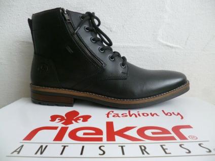 Rieker Herren Stiefel Stiefelette Stiefeletten Boots schwarz TEX 33212 NEU