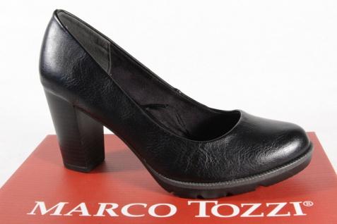 Marco Tozzi 22404 Pumps Innensohle Slipper Trotteur schwarz weiche Innensohle Pumps NEU! 06d0c5
